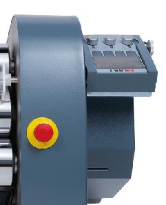 EXAKT 120e-450-control-panel, three roll mill