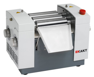 three roll mills, exakt technologies, dispersion