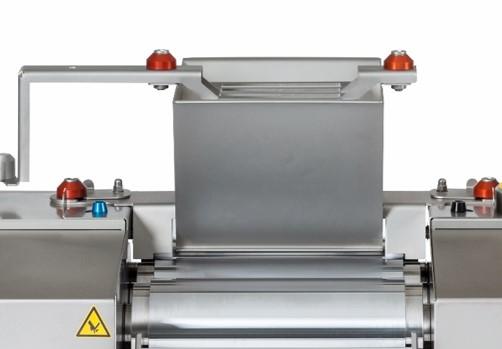 EXAKT Technologies, three roll mill, 80E Plus