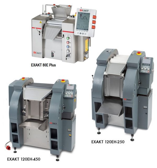EXAKT Electronic Three Roll Mils