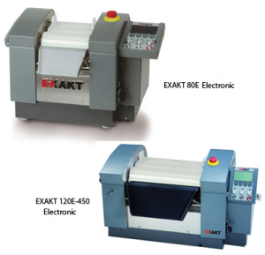 EXAKT 80E & 120E, three roll mills